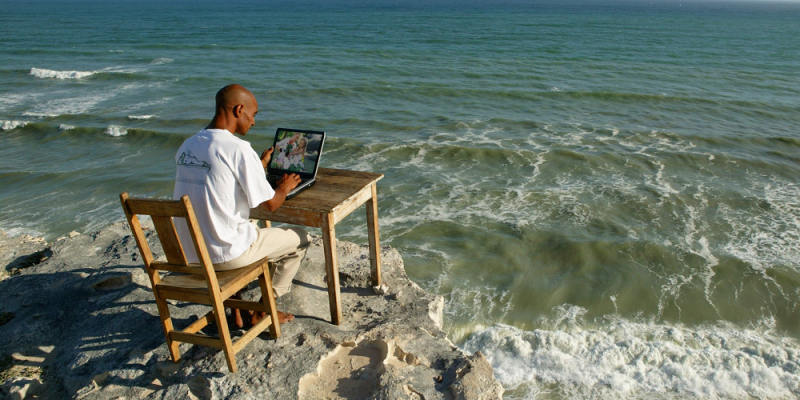 working remotely